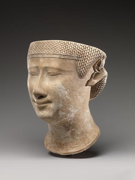 Incomplete female head