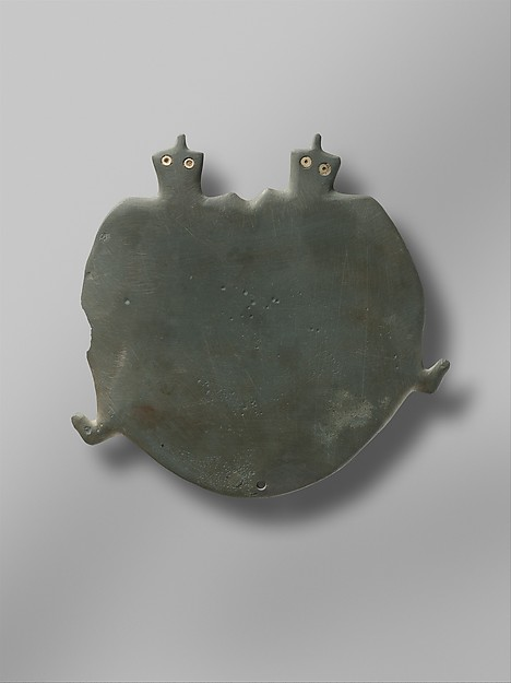 Palette Depicting a Pair of Mud Turtles