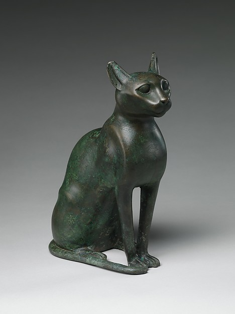 Cat Statuette