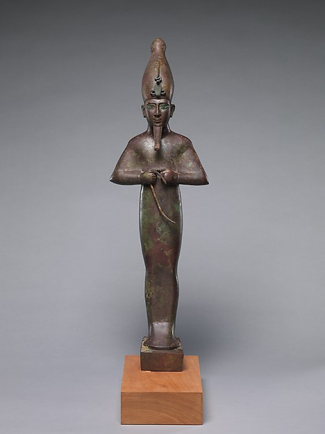 Osiris inscribed for Harkhebit, son of Padikhonsu and the Housemistress Isis...