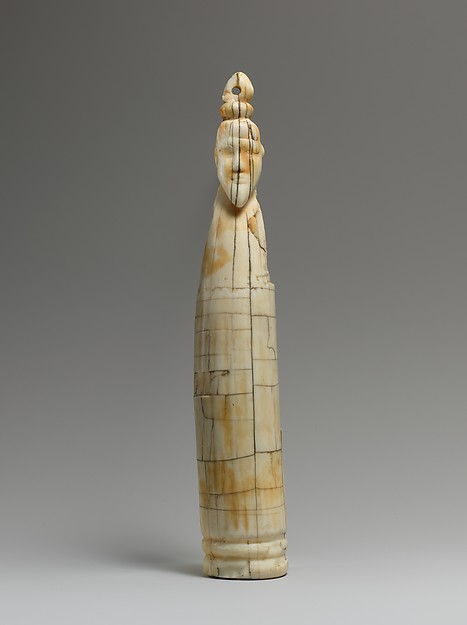 Tusk figure of a man