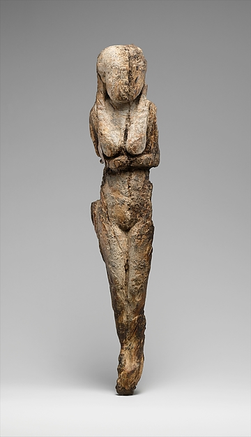 Statuette of a Standing Woman