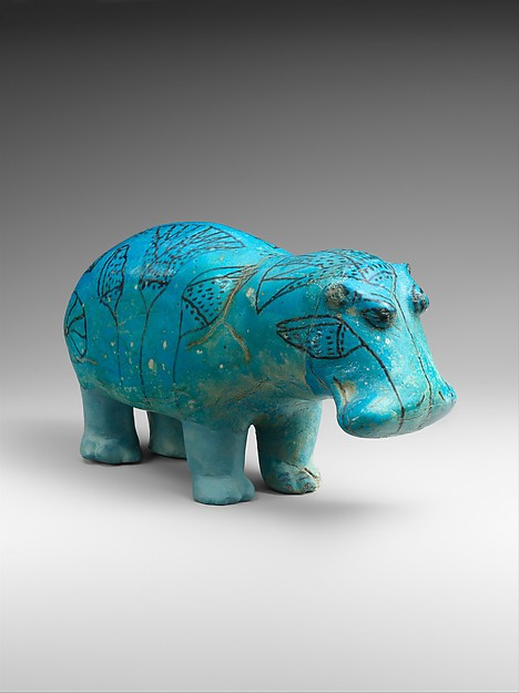Figure of a Hippopotamus