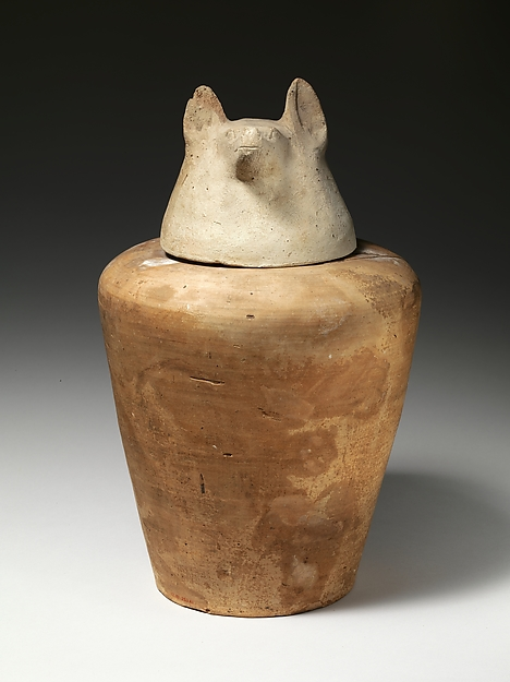 Canopic jar of Tetinakht: Duamutef