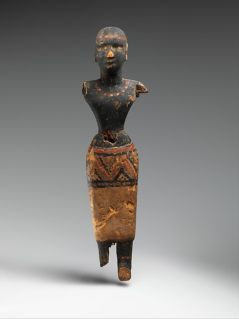 Figure of a Woman of Nubian Descent