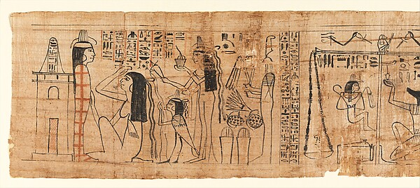 Funerary Papyrus Belonging to the Singer Tiye