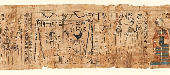Funerary Papyrus Belonging to the Singer Tiye