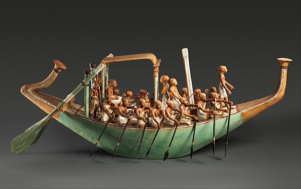 Model Paddling Boat
