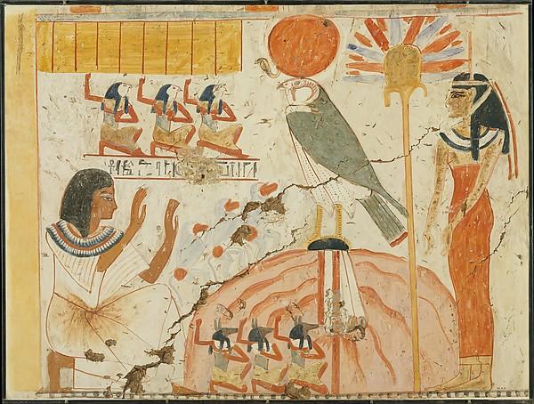 Userhat Adoring Deities of the West, Tomb of Userhat