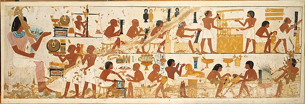 Craftsmen, Tomb of Nebamun and Ipuky