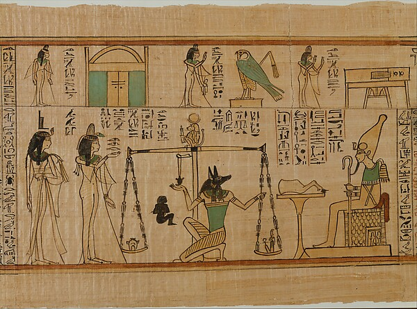 The Singer of Amun Nany&#39;s Funerary Papyrus