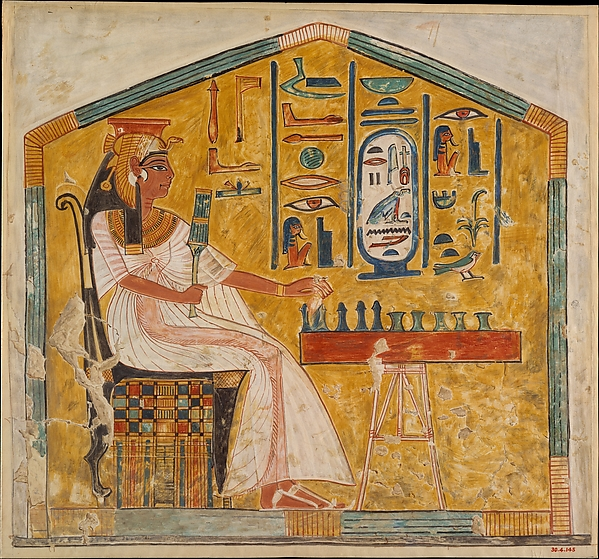Queen Nefertari Playing Senet, Tomb of Nefertari