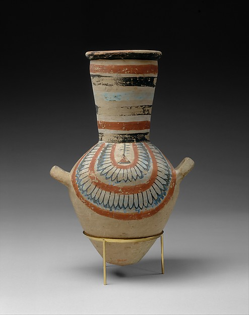 Jar from the tomb of Sennedjem