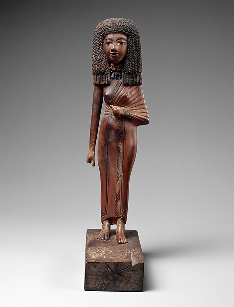 Statuette of the lady Tiye