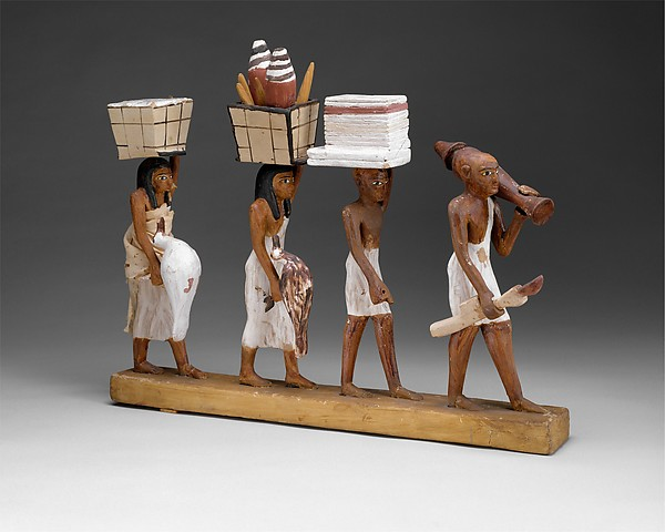 Group of offering bearers