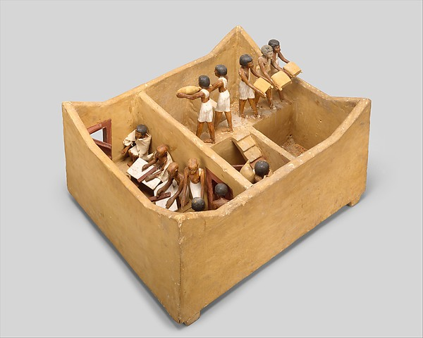 Model Granary from the Tomb of Meketre
