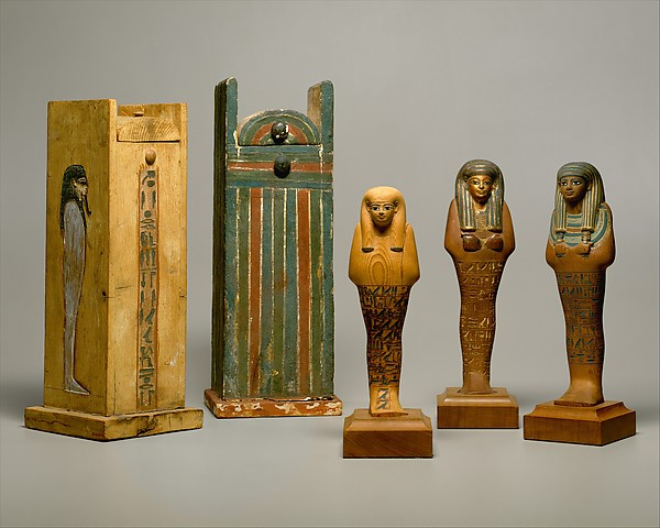 Shabti box of Yuya