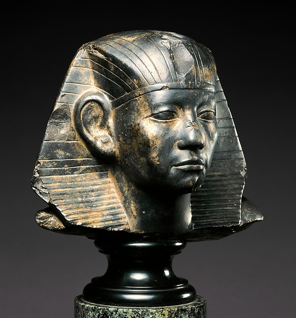 Head of a Statue of Amenemhat III