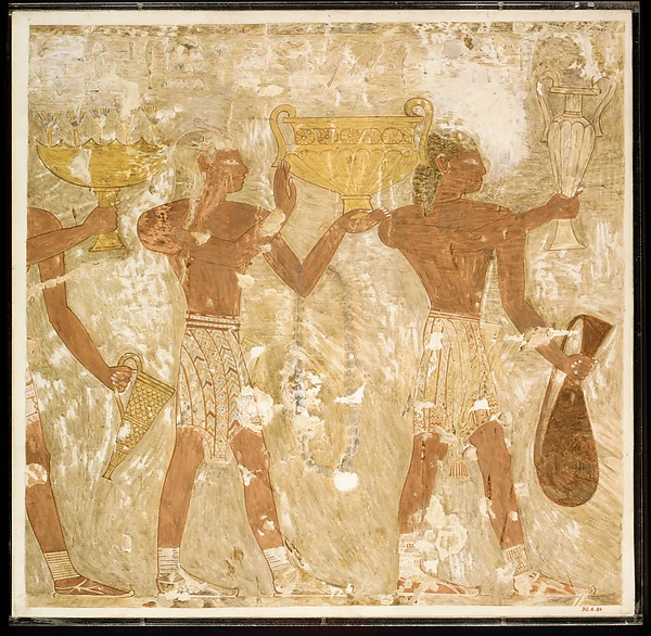 Cretans Bringing Gifts, Tomb of Rekhmire