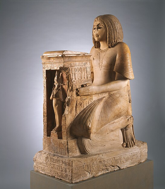 Kneeling Statue of Yuny