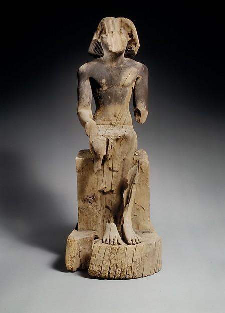 Sitting Statue of Kaemsenu (?)