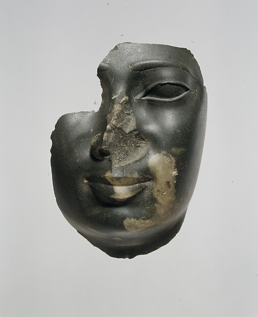 Face attributed to Ptolemy II Philadelphos or a contemporary