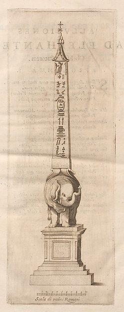 Ad Alexandrum VII. Pont. Max. Obelisci Aegyptiaci : nuper inter Isaei Romani rudera effossi interpretatio hieroglyphica