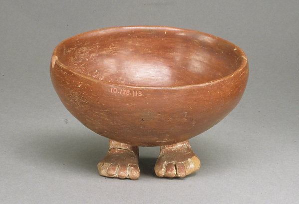 Bowl with Human Feet
