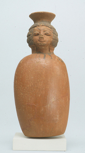 Jug in the shape of a woman's head