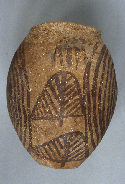Decorated ware jar