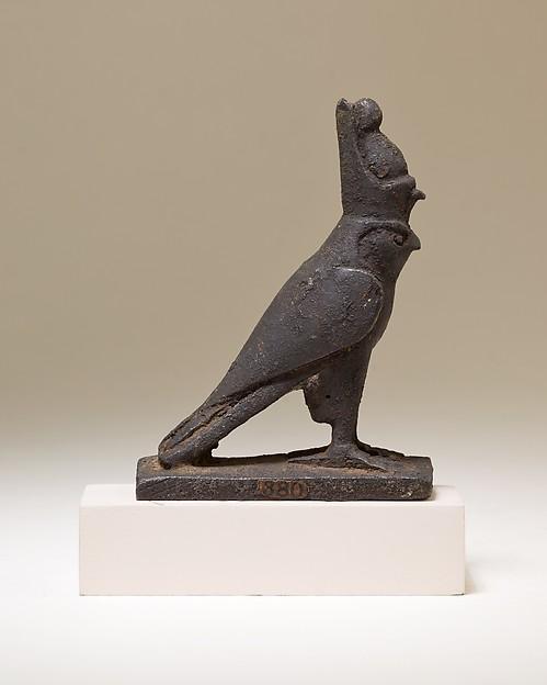 Horus falcon figure