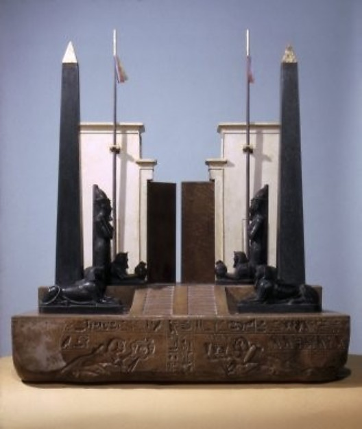 Model of a Temple Gateway at Heliopolis
