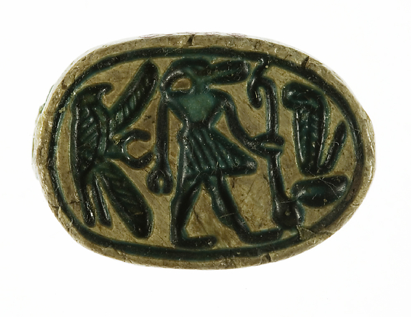 Scarab with a Crocodile Headed Deity
