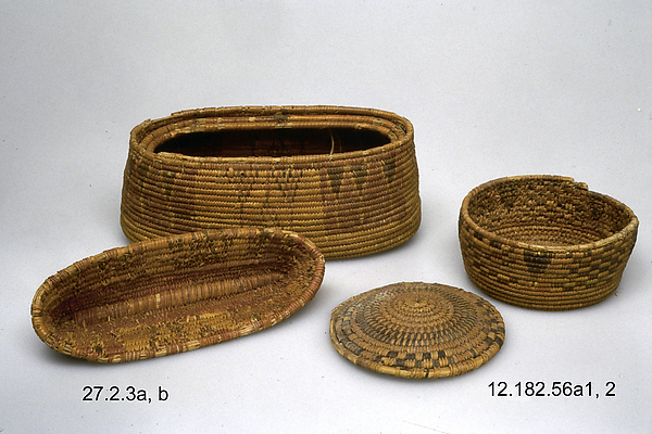 Cylindrical Basket and Lid