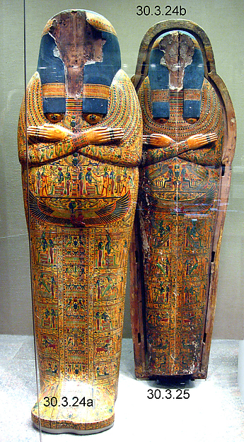 Inner Coffin of the Singer of Amun Nany