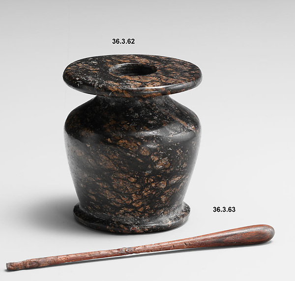 Kohl Jar and Stick (with 36.3.63)