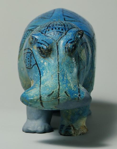 Figure of a Hippopotamus