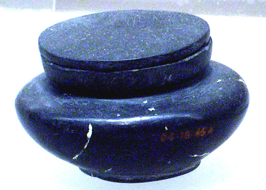 Jar for eye paint (kohl)
