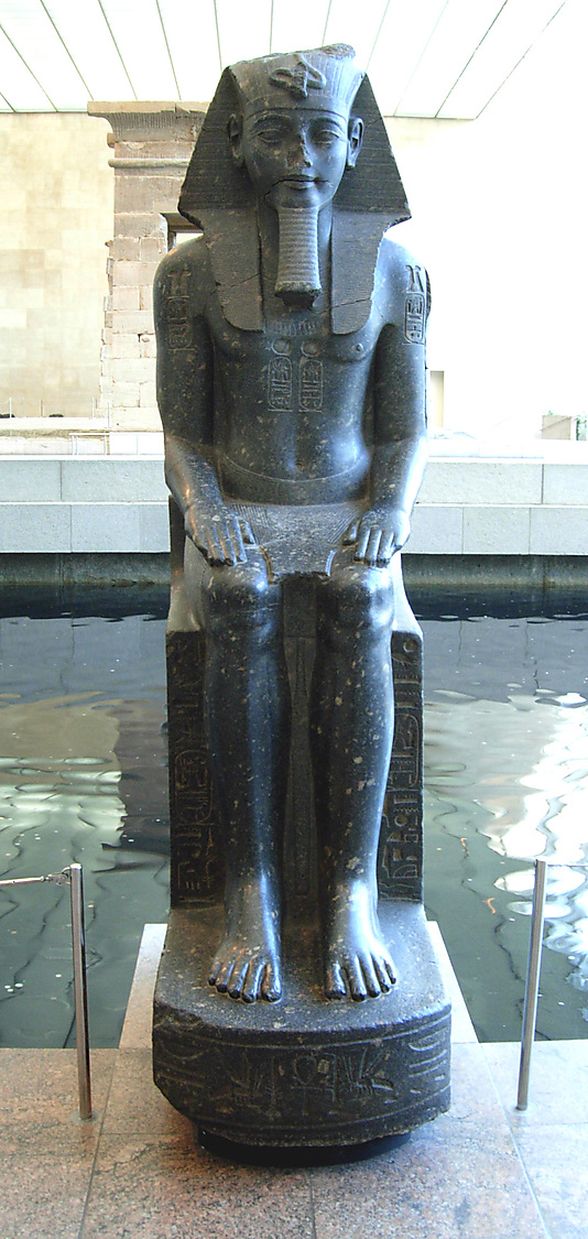 Colossal Seated Statue of Amenhotep III, Reinscribed by Merneptah
