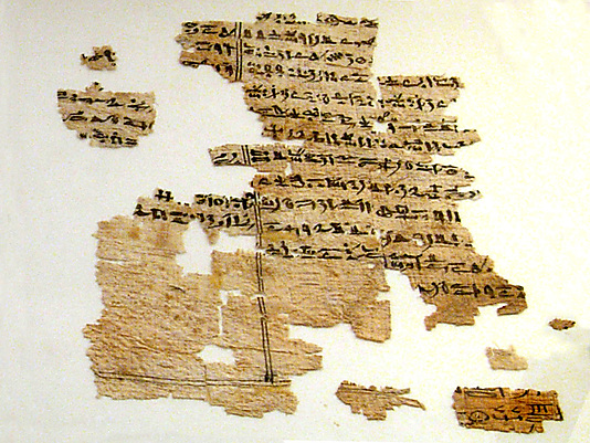 Papyrus, Book of the Dead, Chapter 102
