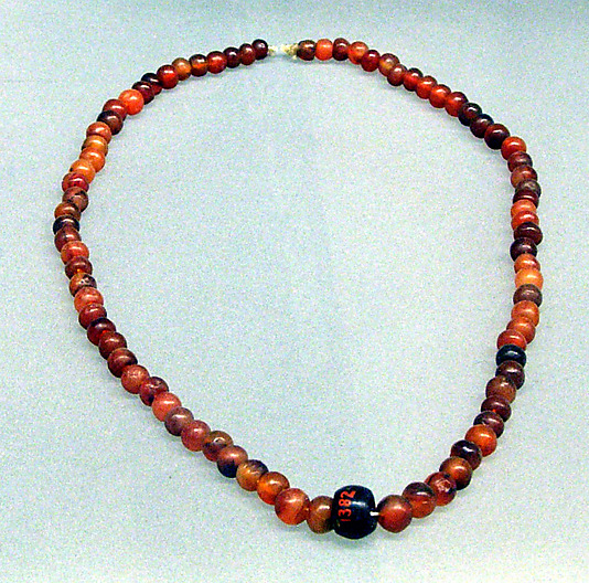 Necklace, ball beads