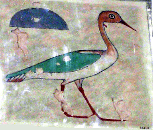 Detail of a Bird, Tomb of Khnumhotep