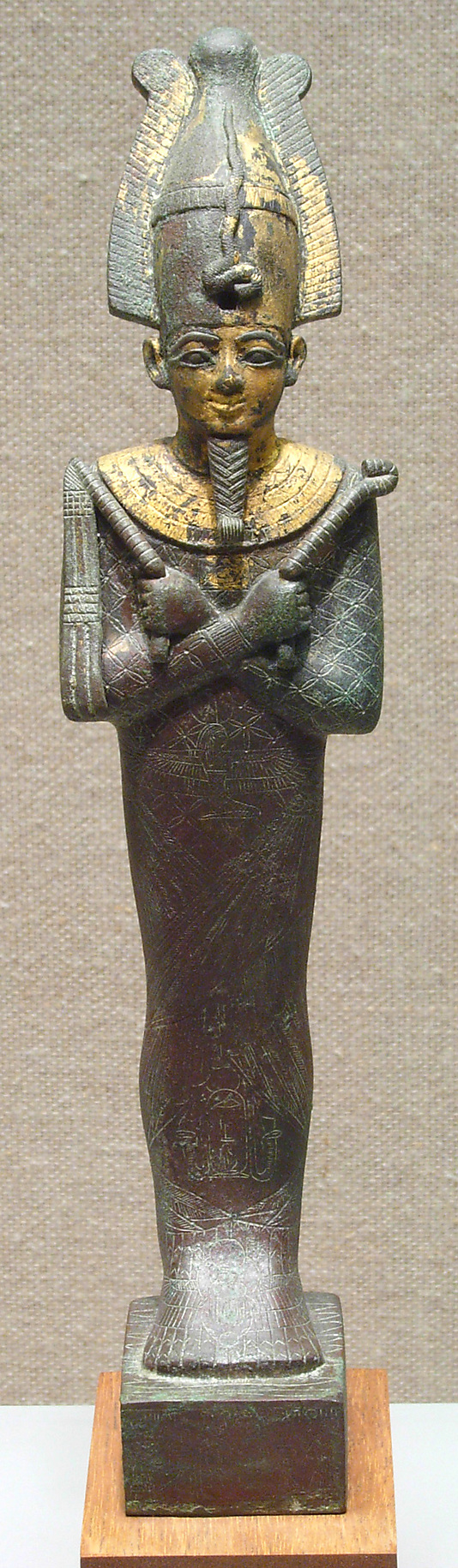 Statuette of Osiris with the name of Padihorpere