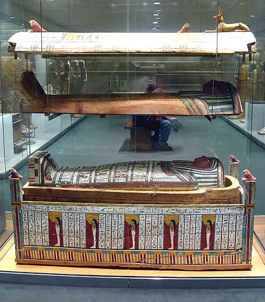 Innermost Anthropoid Coffin of Tabakenkhonsu