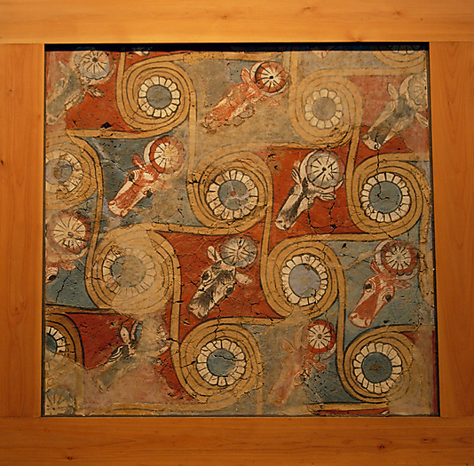 Ceiling painting from the palace of Amenhotep III