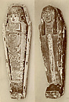 Coffin with mummy