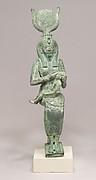 Statuette, Isis, Horus