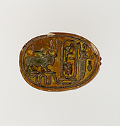 Scarab Inscribed for Thutmose I
