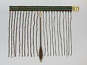 Beadwork apron of Senebtisi
