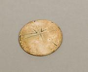 Rosette ornament, lid (?)